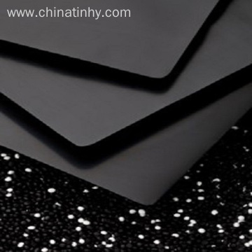 HDPE geomembrane used in containments pond linings