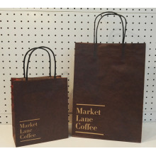 Festival Brown Twist Handle Decorates Paper Bags