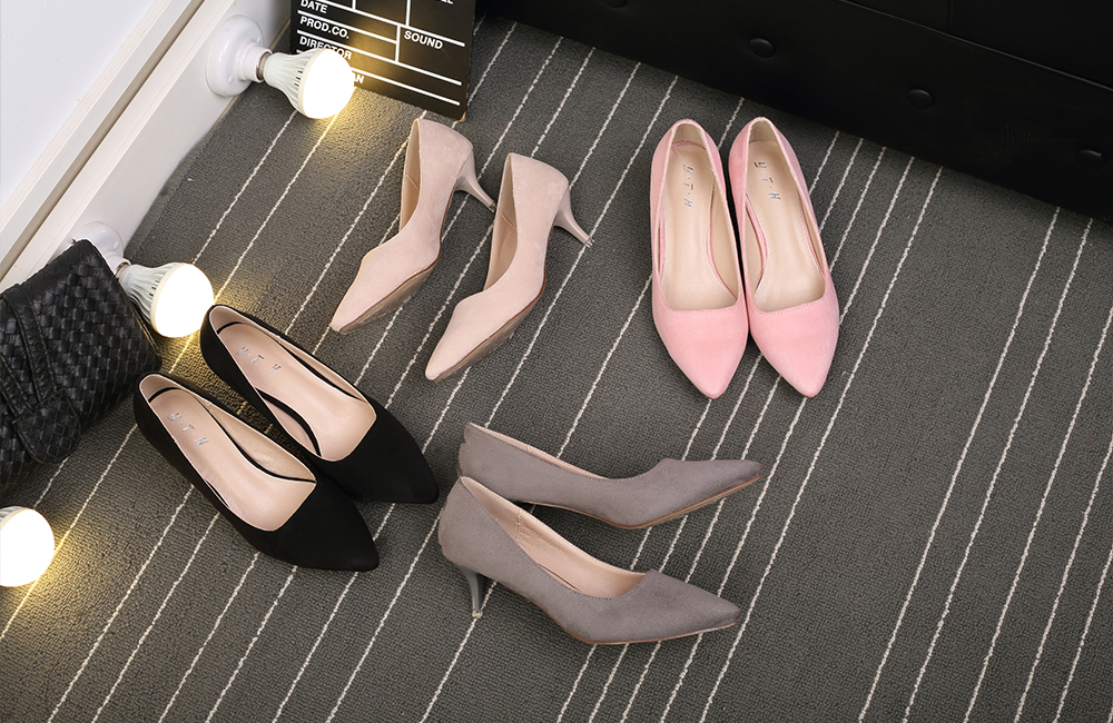 Middle Heel Pumps