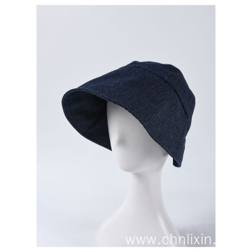 Fedora large brim bucket hat cloth beanie hat