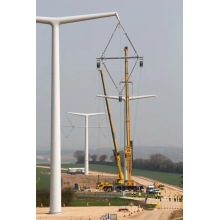 High Voltage Steel Pole