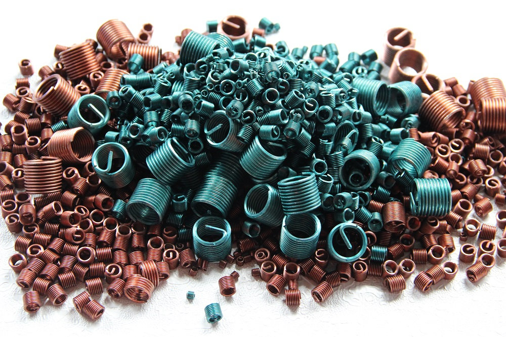 Coated Wire Thread Insert