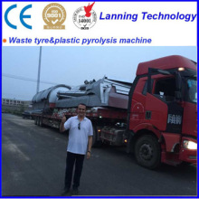 waste oil sludge to fuel oil pyrolysis machine