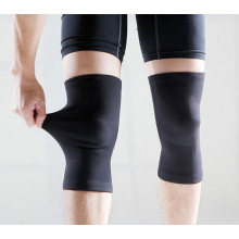 High elastic compression nylon sports knee sleeves