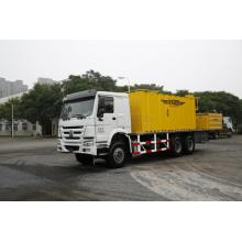 Low power consumption asphalt paving machine