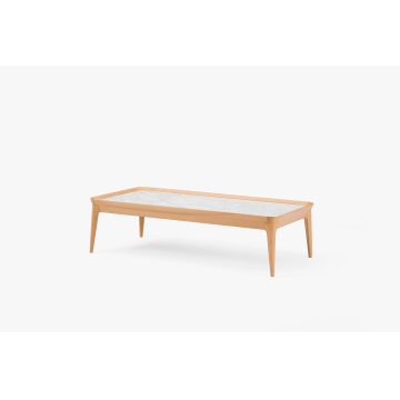"FAS BEECH ""Water Lily"" Wooden Coffee Table"