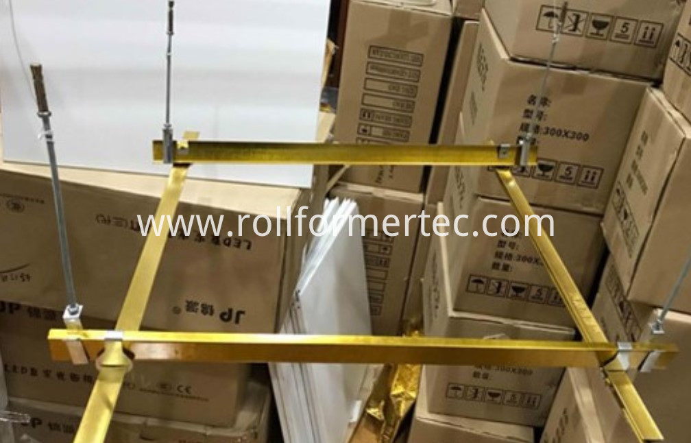 suspended ceiling channel rollformers 12