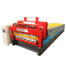 Colored steel double ibr sheets roll forming machine