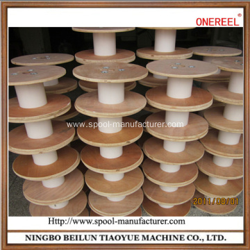 large empty wooden electrical cable spools for sale