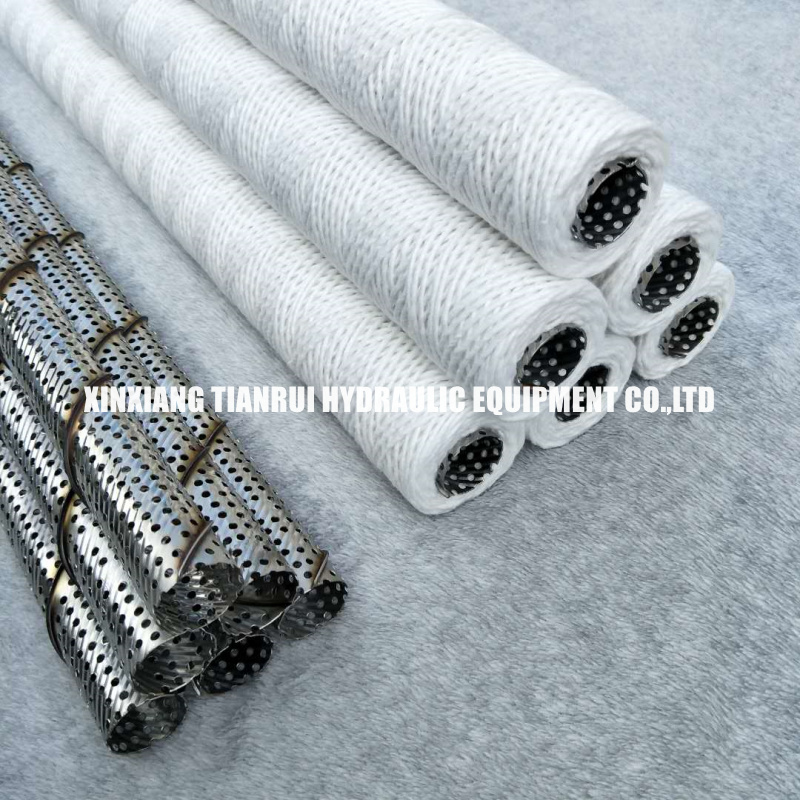 Cotton String Wound Filter Cartridge