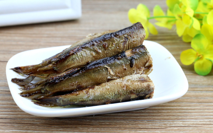 Canned Sardine Fish in Sunflower Oil