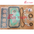 excavator K21 engine gasket bearing piston ring liner