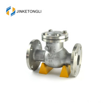 JKTLPC014 vertical flapper stainless steel non return 3 inch check valve