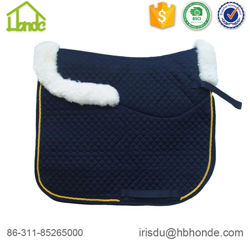 dressage sheepskin saddle pad
