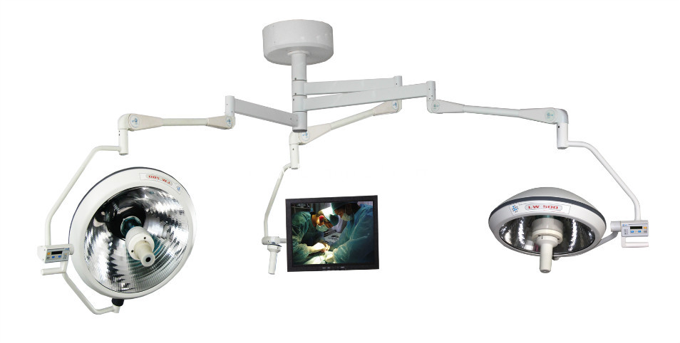Halogen Surgical Operation Lamp with Camera System