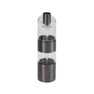 Black painting salt & pepper grinder