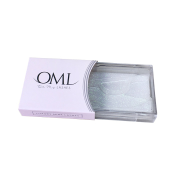 Wholesale Private Label Custom Eyelash Packaging Slip