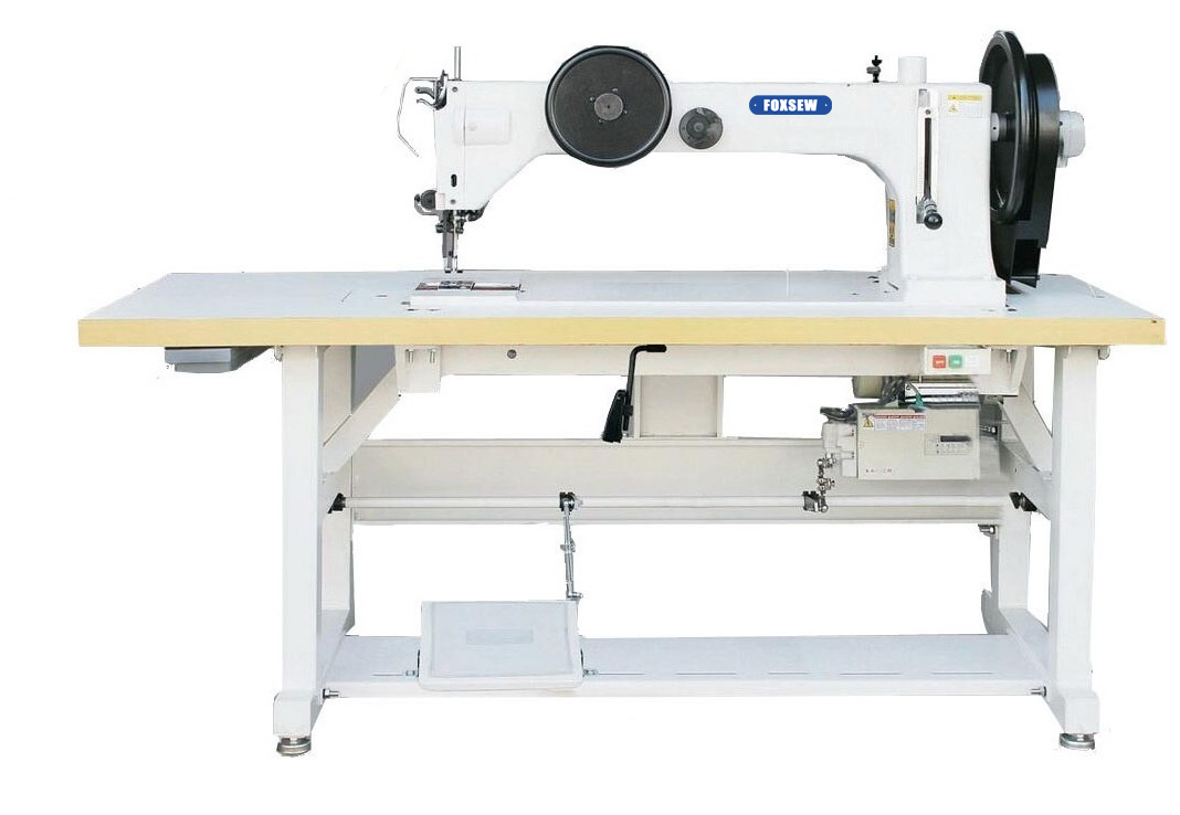 KD-733-762 Long Arm Extra Heavy Duty Drop Feed Walking Foot Lockstitch Sewing Machine