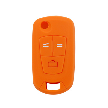 New custom silicone car opel key cover