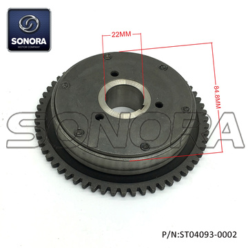 152QMI GY6 125CC One Way Starter Clutch (P/N:ST04093-0002) Complete Spare Parts High Quality