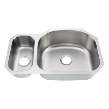 8152AR Undermount Double Bowl Kitchen Sink