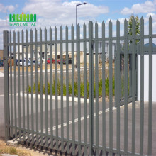 Zinc Steel decorative garden fencing