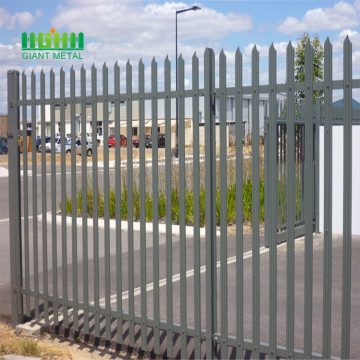 Multifunctional galvanized steel fence designs