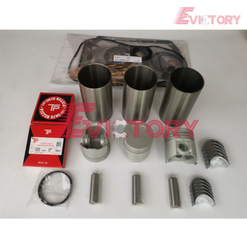 excavator EF750 engine gasket bearing piston ring liner