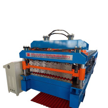 Customized Glazed Corrugated Double Deck Forming Machine