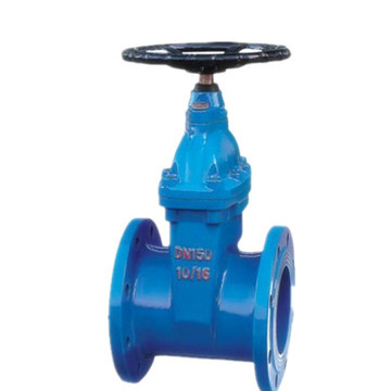 Dark rod type elastic seat sealing gate valve