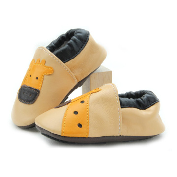 Wholesale Soft Smooth Leather Baby Infant Shoes