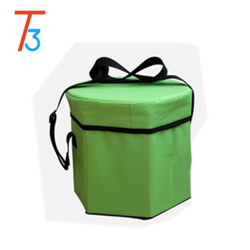 Storage Box Tote Portable Insulated Picnic Bag Shoulder Cooler Lunch Travel