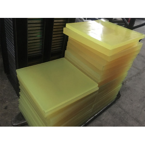 Europe style for for Cast Pu Plate 90A Cast Nature Color PU Polyurethane Sheet export to Yemen Exporter