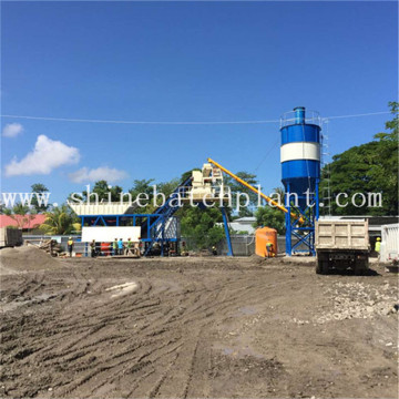 40 Efficiency Mobile Concrete Batching Plant