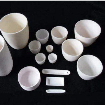 99% Corundum Alumina Ceramic Crucible for Melting Metal