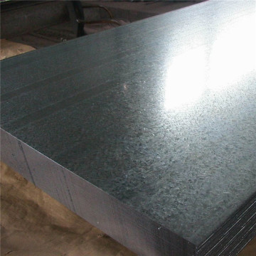 Hot rolled ISO regular spangle galvanized steel sheet