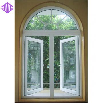 Lingyin Construction Materials Ltd Grill Design And New Design Aluminum Casement Window Price For Nepal Market.