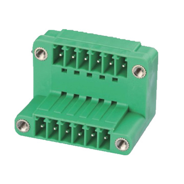 Plug-in Terminal Block  Right-Angle W/F Pitch:3.5/3.81