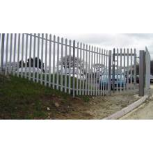 Low Cost for Palisade steel fence Details palisade fence specification supply to American Samoa Manufacturer