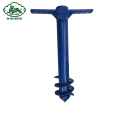 PP Material Beach Umbrella Screw Anchor Pole Anchor