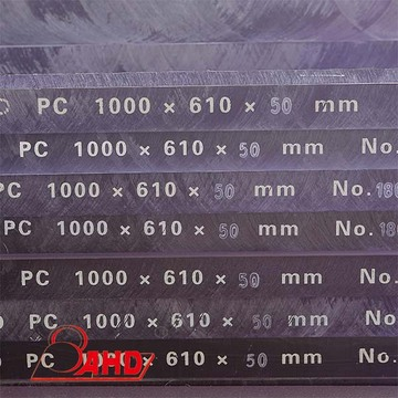 Polycarbonate PC Sheets Boards Engraving CNC Machining