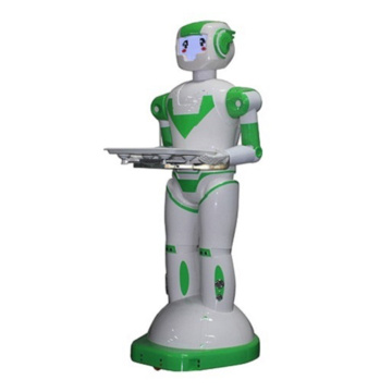 Intelligent Humanoid Robot Waiter In Robotic Hotel