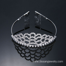 Fashion Hair Jewelry Pageant Tiara