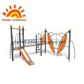 New arrival commercial plastic outdoor playground