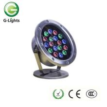 18watt IP68 RGB 24V LED Fountain Light