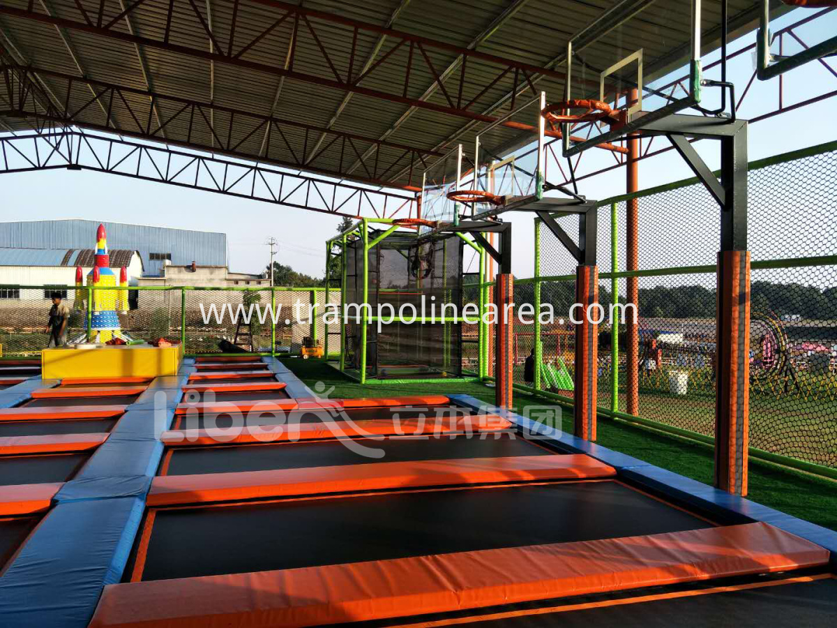 indoor trampoline park installer