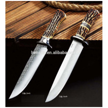 High Quality Steel Tactical Straight Knife Survival Knife