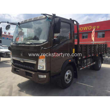 4 Tons Howo Sinotruk Light Box Trucks