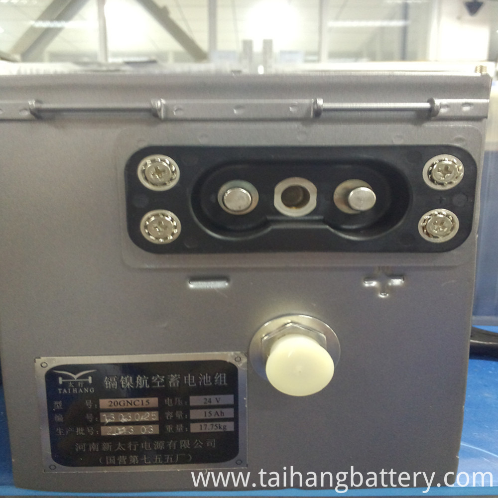 1.2V 24V AIRCRAFT BATTERY BANK
