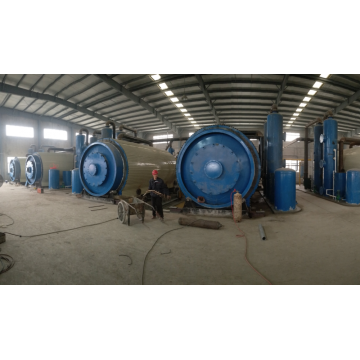 Q245R used tire pyrolysis to fuel plants